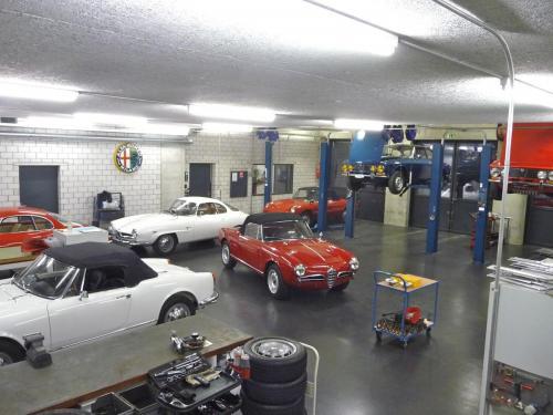 125 Alfa Romeo Werkstatt
