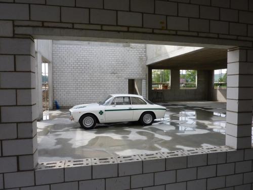 130 Alfa Romeo Rohbau
