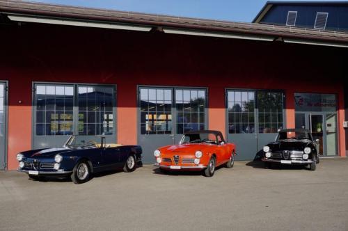 221 Alfa Romeo Touring Spider