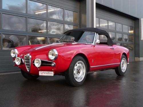 232 Alfa Romeo Giulietta Spider